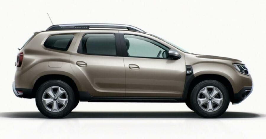 Вид сбоку Renault Duster 2019 модельного года