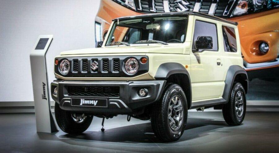 Новый Suzuki Jimny появится в России во второй половине 2019 года