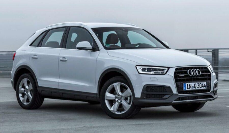 """Немецкий качественный """"паркетник"""" в ценовом диапазоне до 800000 рублей Audi Q3 I"""