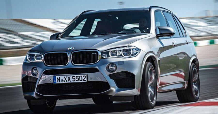 Баварский спорт-кроссовер - BMW X5M