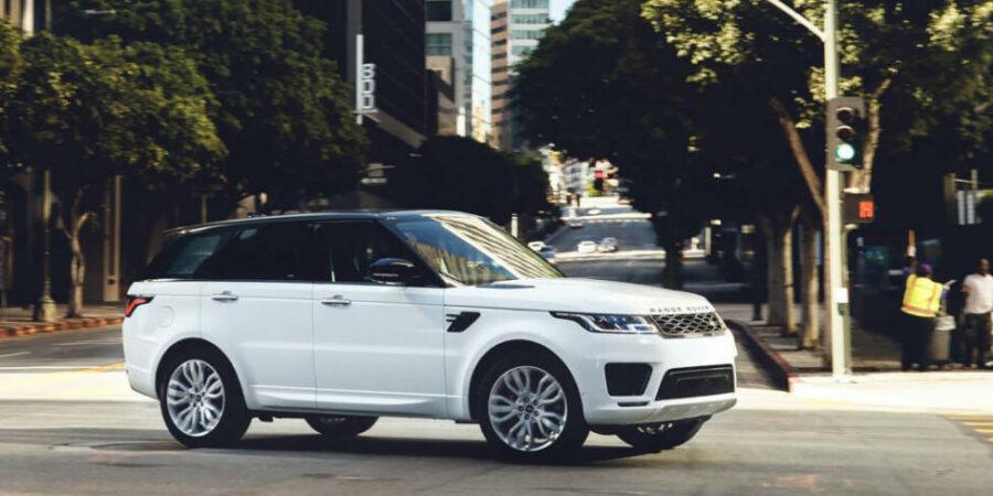 Британский спорт-кросс - Range Rover Sport