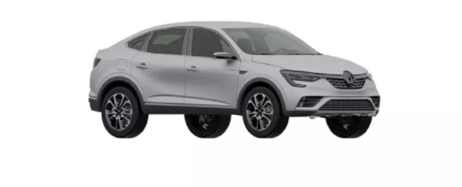 Патентные фото нового Renault Arkana для России