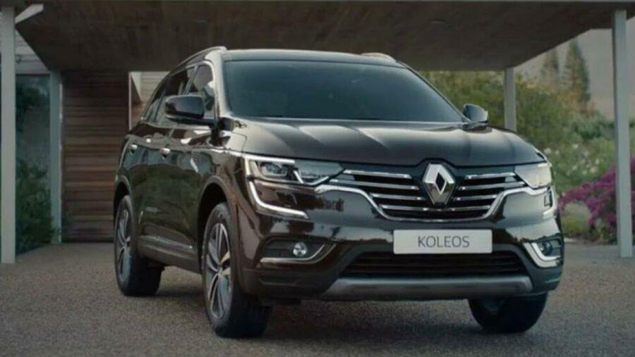 Renault Koleos II  - вместительный кроссовер с большим клиренсом стоимостью до двух млн рублей