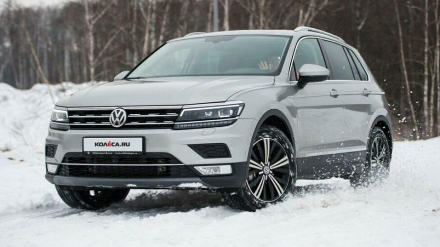 Volkswagen Tiguan II - самый надежный немецкий кроссовер до 2 000 000 рублей