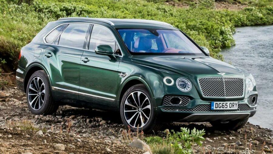 Вторая строчка досталась Bentley Bentayga