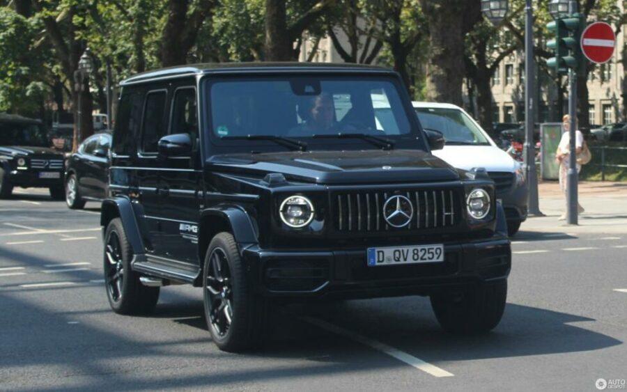 Внедорожник с самым большим расходом топлива - Mercedes-AMG G 63