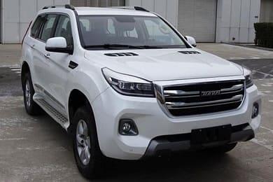 Новый китайский внедорожник Haval H9 2019 модельного года