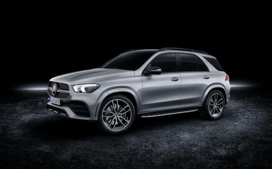Новая самая мощная версия кроссовера Mercedes-Benz GLE 580 4Matic