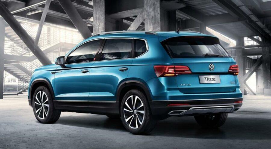 Вид сзади Volkswagen Tharu