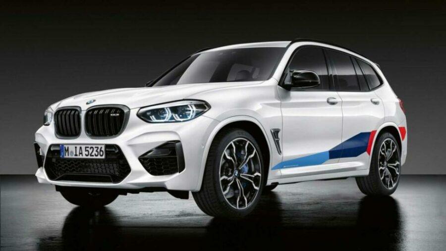 Кроссовер с пакетом улучшений BMW-X3-M-s-M-Perfomance
