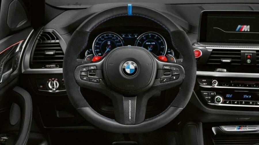 Интерьер BMW X3 M Perfomance