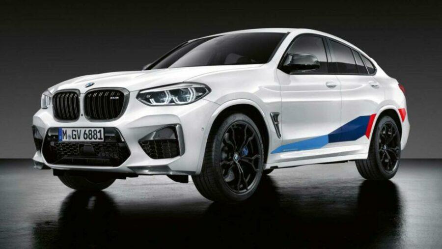 Внешний вид кросса BMW X4 M Perfomance