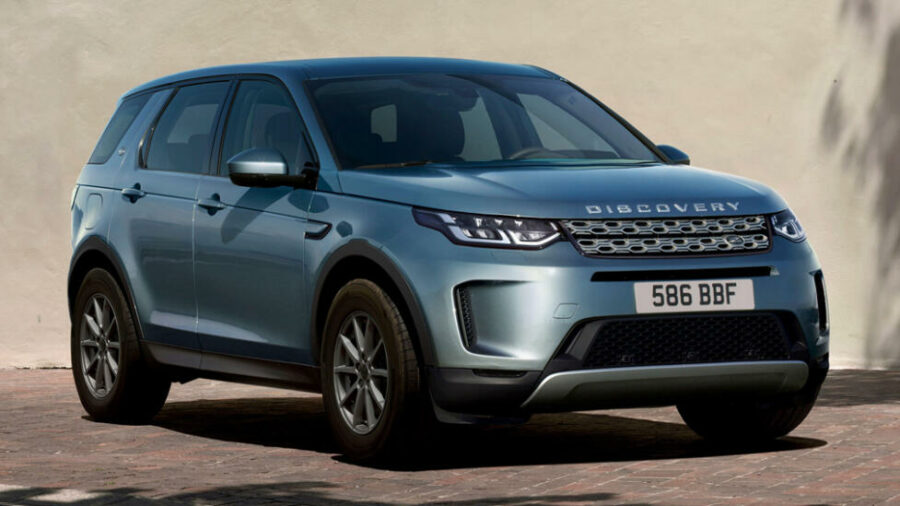 Объявлены рублевые цены на обновленный Land Rover Discovery Sport
