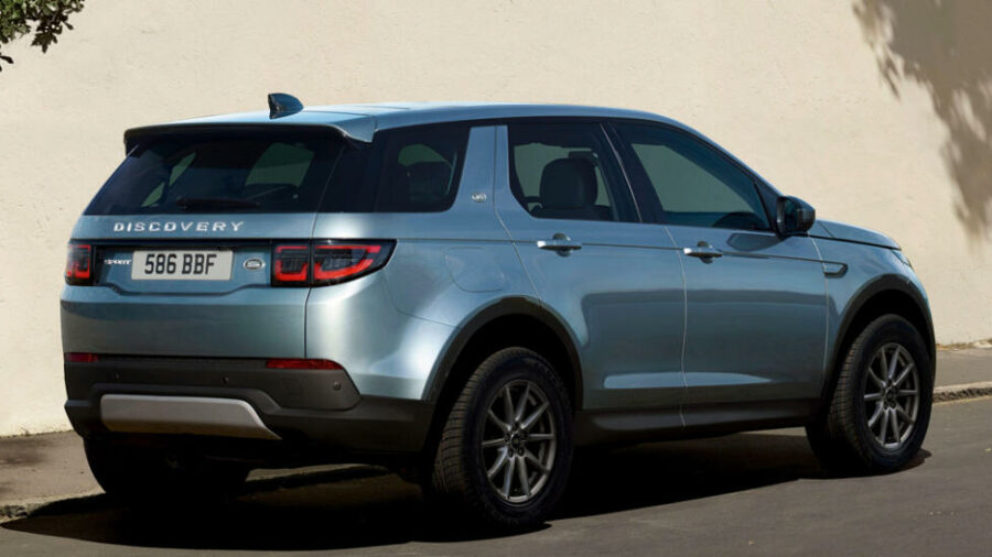 Вид сзади Land Rover Discovery Sport