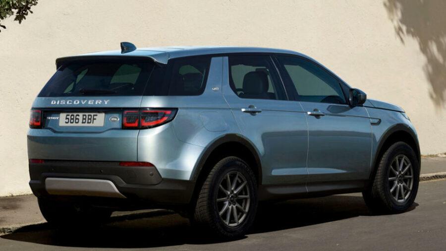 Вид сзади Land Rover Discovery Sport