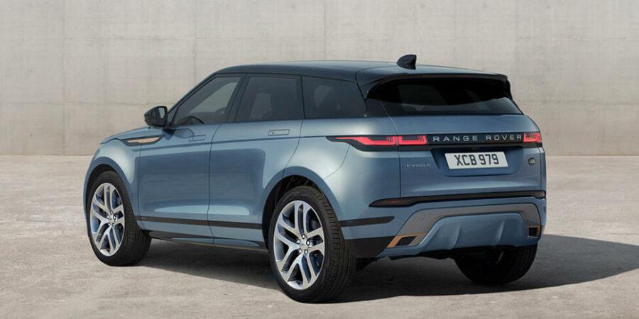 Вид сзади Range Rover Evoque