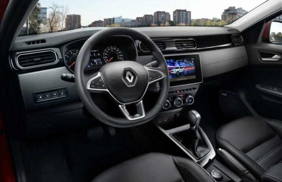 Интерьер Renault Arkana