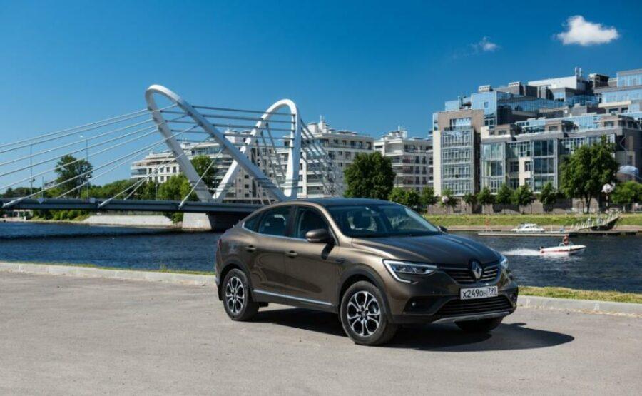 Объявлена стоимость нового Renault Arkana для российского рынка
