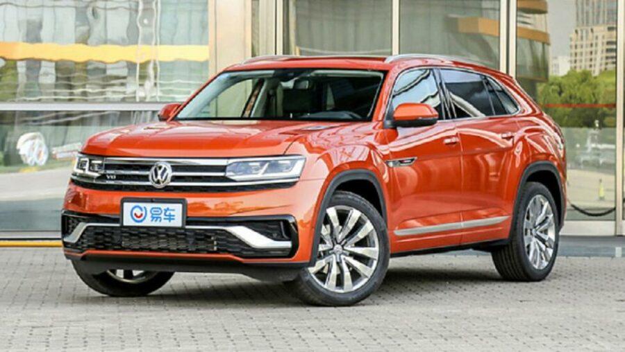 Самая дешёвая версия нового немецкого кроссовера  Volkswagen Teramont X