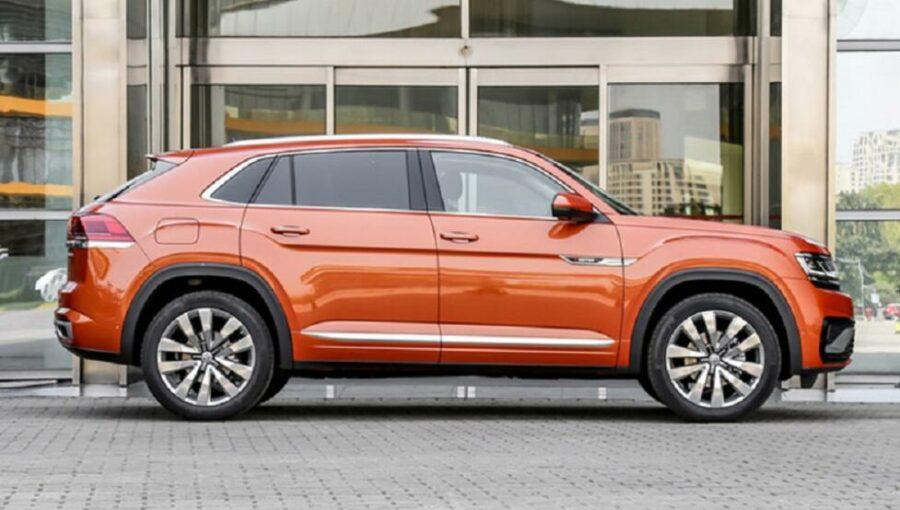Новый купеобразный кроссовер Volkswagen Teramont X