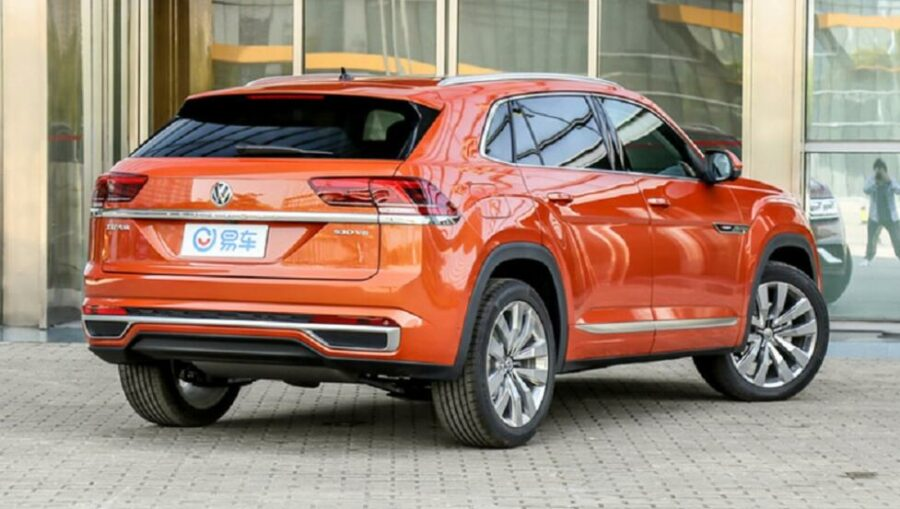 Вид сзади Volkswagen Teramont X