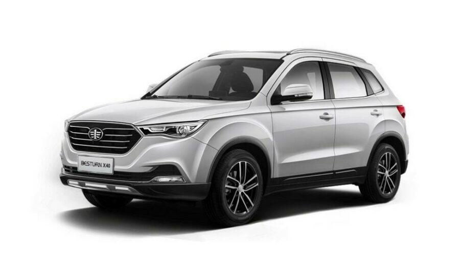 Названы комплектации нового FAW Besturn X40 для рынка РФ