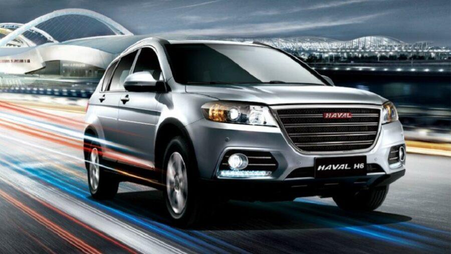 Второй в рейтинге самых покупаемых SUV из Поднебесной - Haval H6
