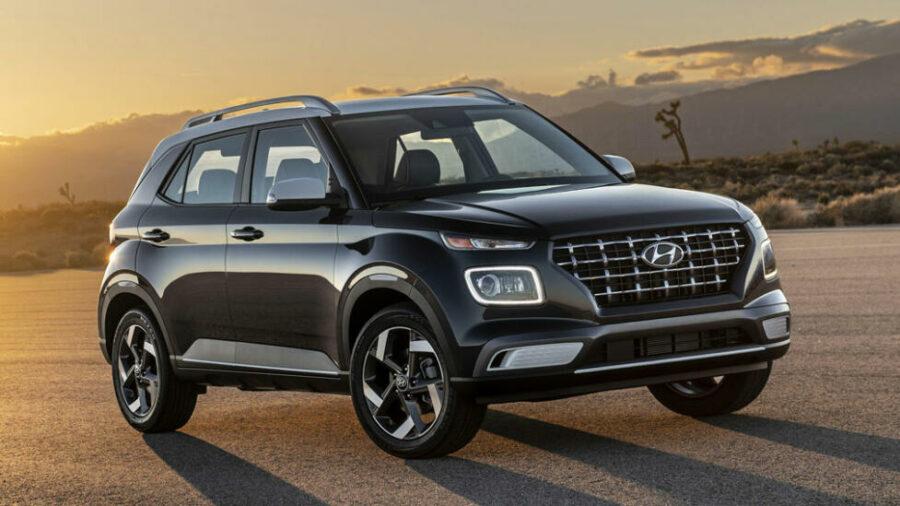 Объявлены сроки появления нового кросса Hyundai Venue на рынке