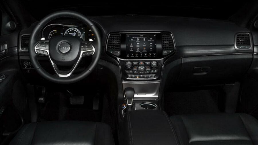 Интерьер Jeep Grand Cherokee S-Limited