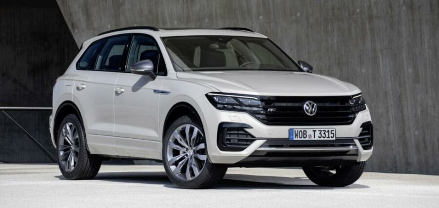 Volkswagen Touareg ONE Million скоро появиться у российских дилеров