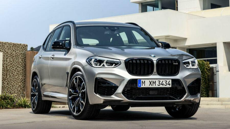 Баварский новый кроссовер BMW X3 M 2019 года