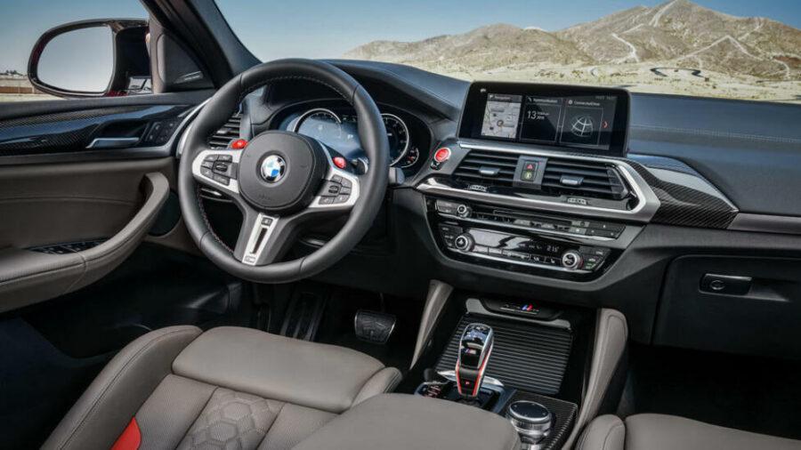 Интерьер BMW X4 M
