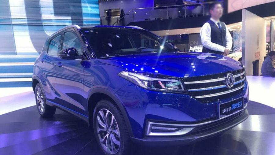 DFM запатентовал в РФ новый электрический кросс Dongfeng Fengon E3