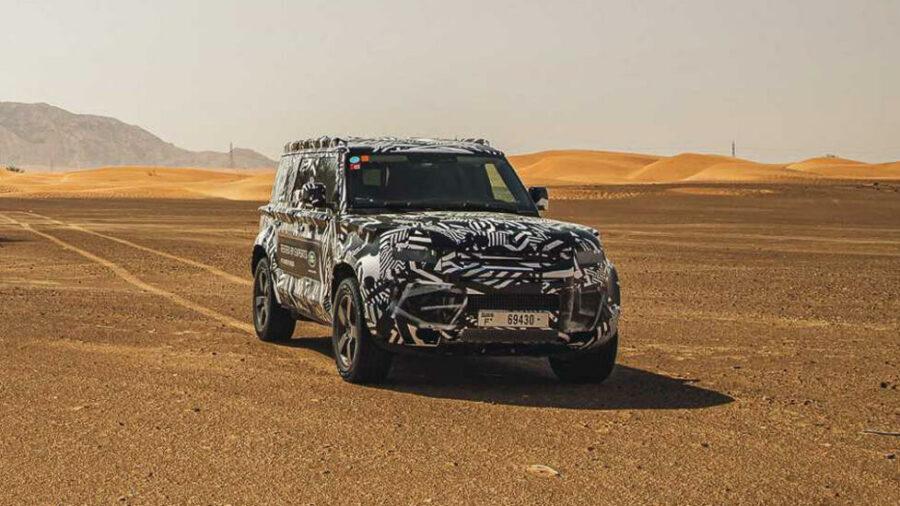Новый Land Rover Defender 2019 модельного года