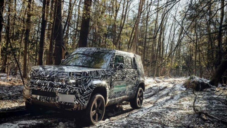 Британский внедорожник Land Rover Defender нового поколения 2019 модельного года