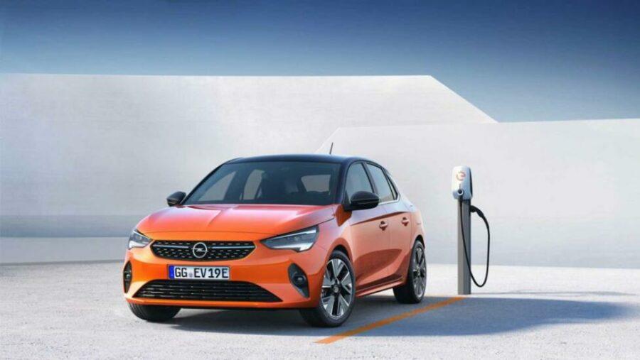 Новый электрический хэтчбек Opel Corsa-E