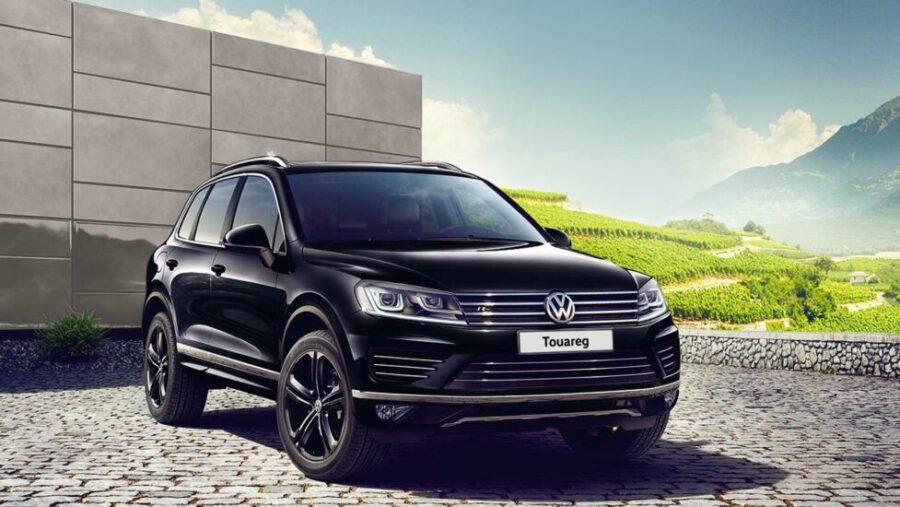 Пятое место в рейтинге самых не угоняемых - Volkswagen Touareg