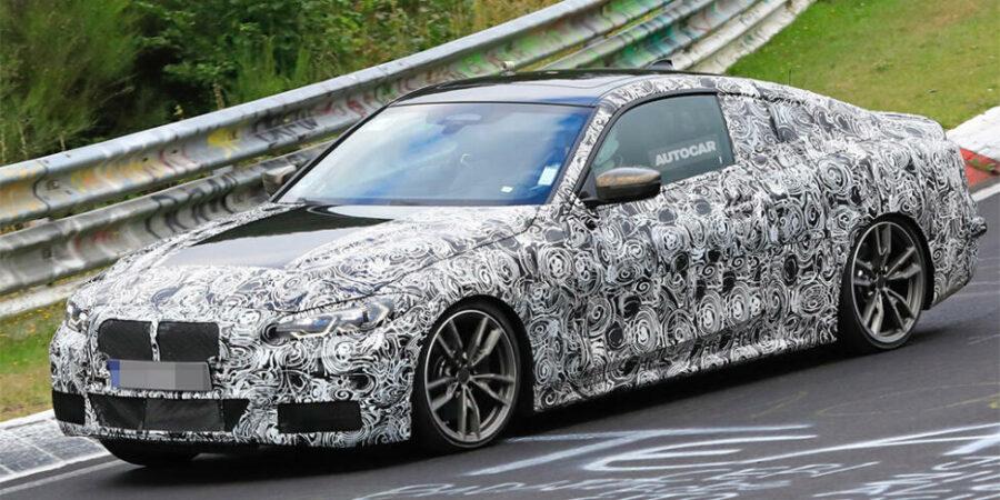 Новое немецкое спорт-купе BMW 4-Series