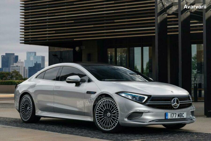 Самая ожидаемая автоновинка 2019 года - седан Mercedes-Benz EQS