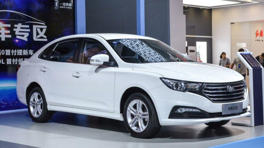 Скоро в России стартуют продажи нового китайского седана FAW Besturn B30