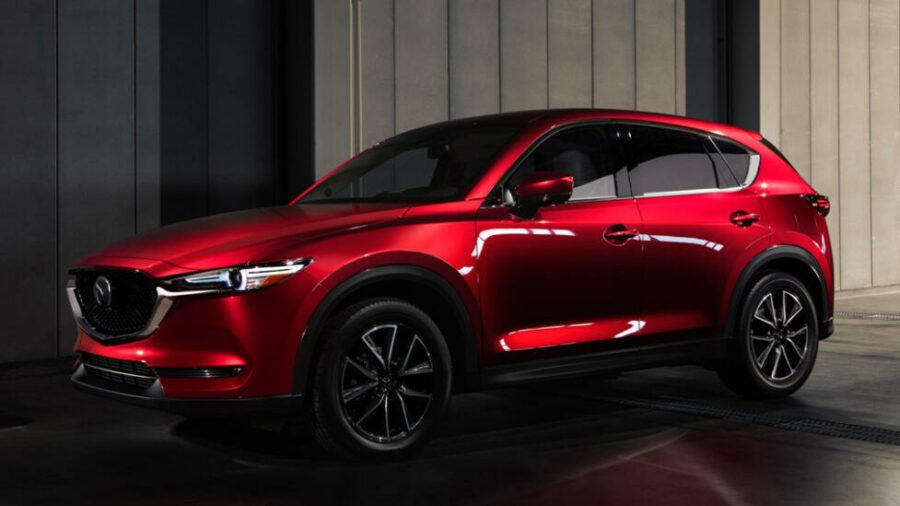 3 место - Mazda CX-5