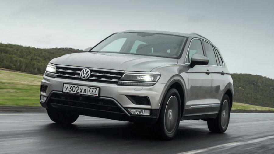 Volkswagen Tiguan Winter Edition появился у российских дилеров