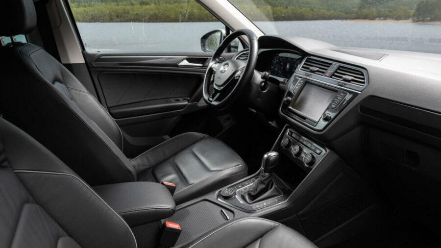 Интерьер Volkswagen Tiguan Winter Edition