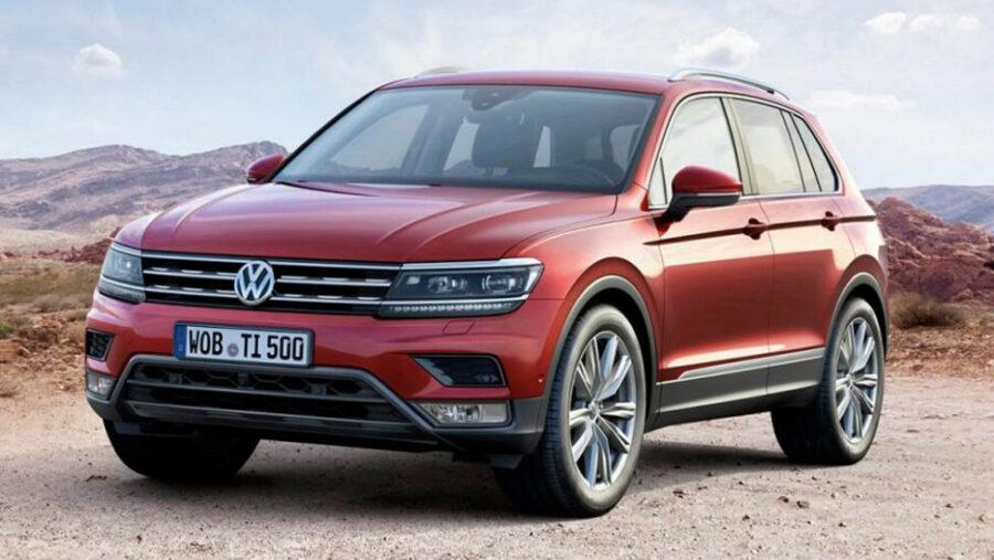 1 место - Volkswagen Tiguan