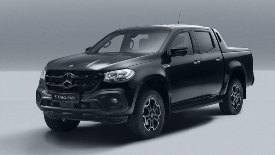 В России стартовали продажи пикапа Mercedes-Benz Х-Class Night Edition