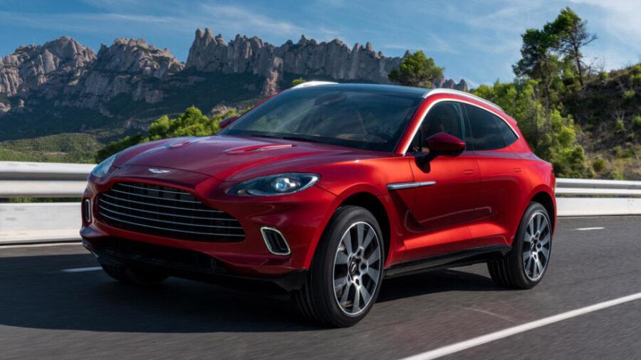 Известны рублевые расценки на новый британский кроссовер Aston Martin DBX