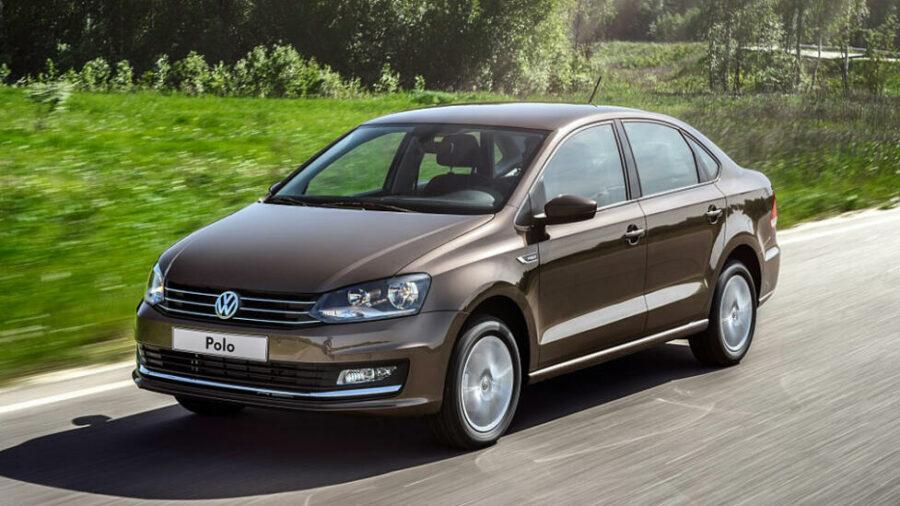 Самый экономичный седан Volkswagen Polo