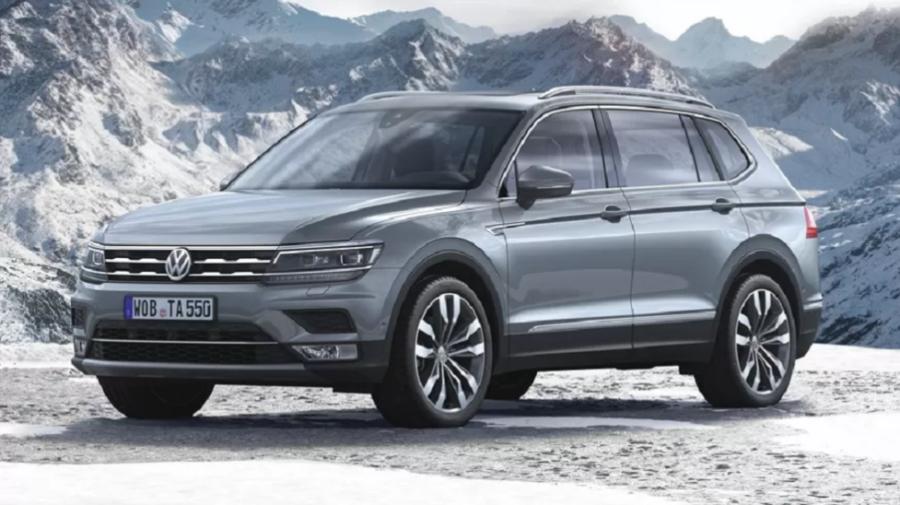 Volkswagen Tiguan Allspace с трехрядным салоном скоро появится на российском рынке