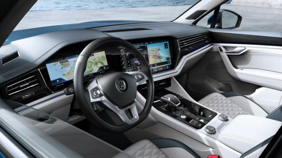 Интерьер Volkswagen Touareg Business