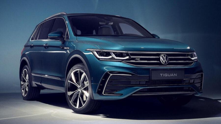 Обновленный кроссовер Volkswagen Tiguan